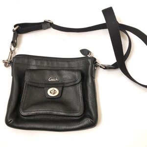Coach crossbody bag. Black. Excellent condition.